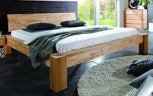 bett rahmen doppelbett futonbett kernbuche 180x200 buche eiche massiv holz ge lt ebay. Black Bedroom Furniture Sets. Home Design Ideas