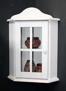 massivholz h ngevitrine holz kiefer massiv wei lasiert. Black Bedroom Furniture Sets. Home Design Ideas