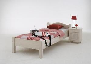 massivholz kinderbett jugendbett 90x200 holzbett bett holz. Black Bedroom Furniture Sets. Home Design Ideas