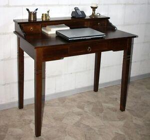 massivholz sekret r mit aufsatz konsolentisch schreibtisch. Black Bedroom Furniture Sets. Home Design Ideas