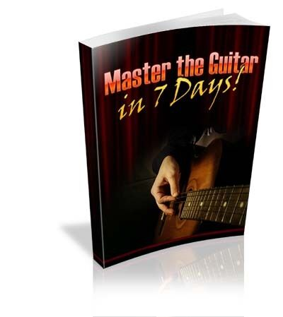 Master the Guitar in 7 Days eBook Master Resell Rights + 3rd generation BONUS in Books, Other | eBay