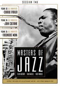 Masters Of Jazz Vol.2 (DVD, 2007)
