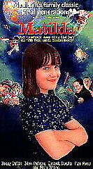 Matilda (VHS, 1996, Closed Captioned)