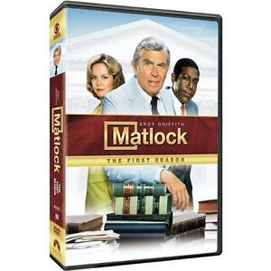 Matlock - The Complete Season One (DVD, ...