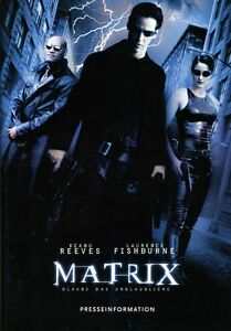 Matrix-ORIGINAL-Presseheft-Keanu-Reeves-L-Fishburne