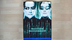 Matrix Reloaded Poster Matrix Reloaded Plakat Maße 70 cm x 50 cm - Deutschland - Matrix Reloaded Poster Matrix Reloaded Plakat Maße 70 cm x 50 cm - Deutschland