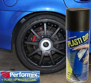 matte black rubber wheel rim tire coating spray 11oz ebay. Black Bedroom Furniture Sets. Home Design Ideas