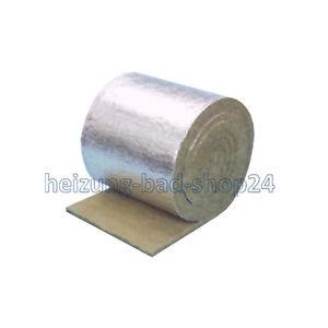 Steinwolle alukaschiert matte