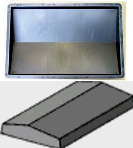Mauerabdeckung kunststoff