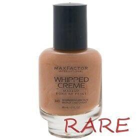 Factor Makeup on Max Factor Whipped Creme Makeup 345 Shimmering Bronze   Ebay