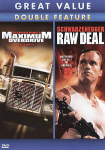 Maximum Overdrive/Raw Deal (DVD, 2010)