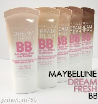 Maybelline BB Cream Dream Fresh Tinted 8-in-1 Beauty Balm - CHOOSE YOUR COLOR in Health & Beauty, Other | eBay