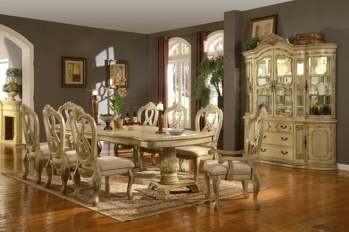 mc ferran table and 6 chairs diningroom dining set high end luxury