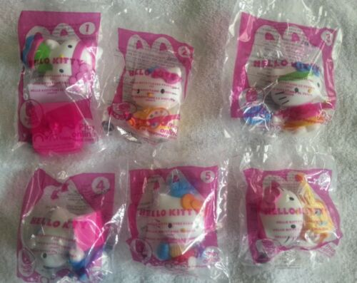 ** McDonalds 2013 Hello Kitty Happy meal set 1-6 NIB ** in Toys & Hobbies, Fast Food & Cereal Premiums, Fast Food | eBay