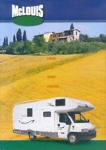 McLouis-Reisemobile-Prospekt-2003-2004-brochure-Autoprospekt-Auto-PKWs-LKWs-Auto