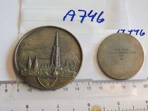 Medaille-Wien-1983-L-R-K-Tandem-Msch-V-Wien-silbern-1-Stueck-A746