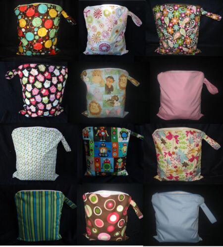 Medium Cloth Diaper Wet Bag - You Choose Print! in Baby, Diapering, Cloth Diapers | eBay