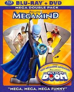 Megamind (Blu-ray/DVD, 2011, 2-Disc Set)
