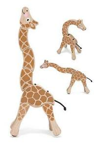 Melissa & Doug Wooden Giraffe Grasping Toy for 12 months+ # 3070