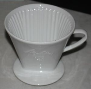 melitta kaffeefilter 103 weisse schrift 1 loch porzellan. Black Bedroom Furniture Sets. Home Design Ideas