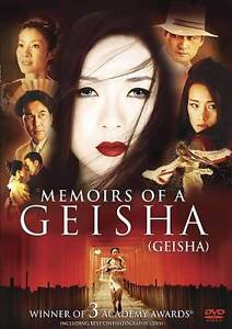 Memoirs of a Geisha (DVD, 2007, Canadian...