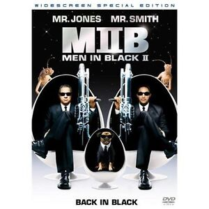 Men in Black II (DVD, 2002, 2-Disc Set, ...