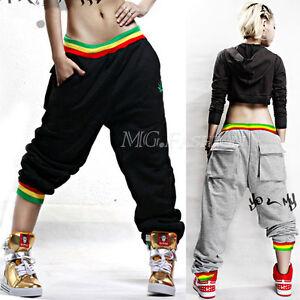 Baggy hip hop sweatpants