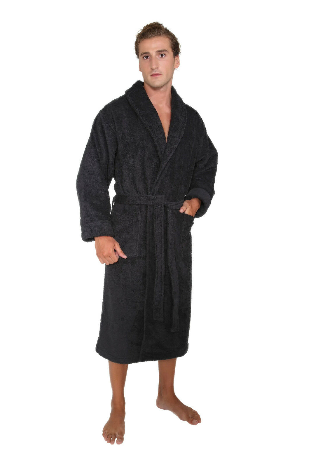 mens womens unisex luxury hotel bathrobe turkish cotton made in turkey robe. Black Bedroom Furniture Sets. Home Design Ideas
