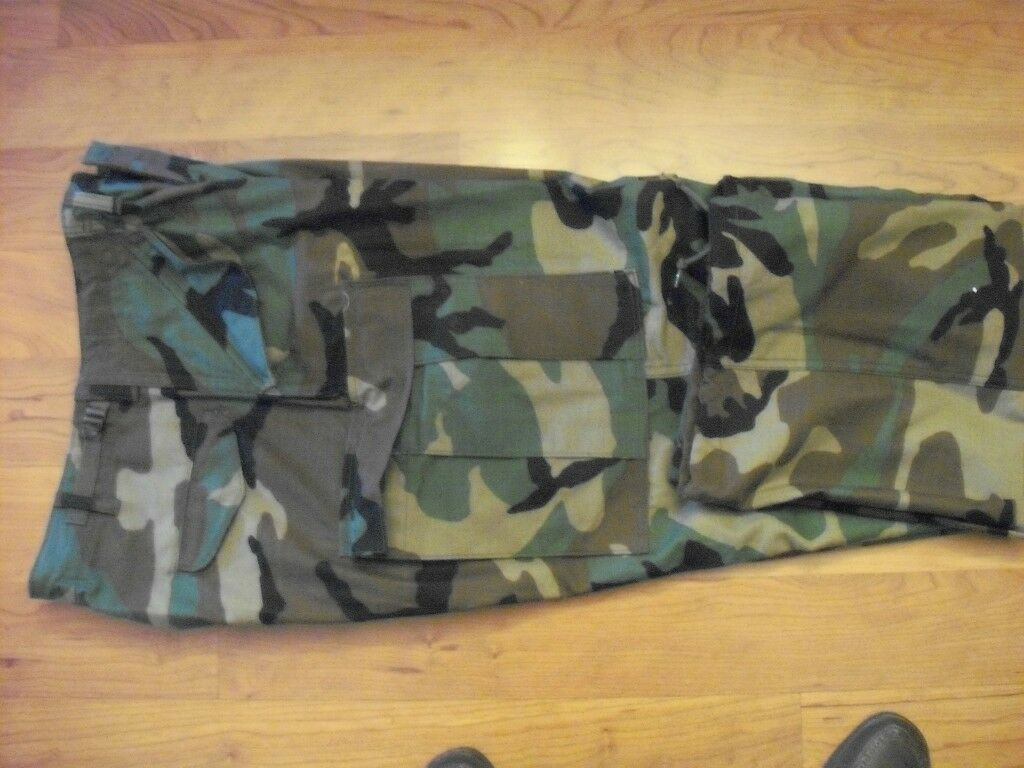 Mens Casual Military Army Cargo Camo Combat Style Pants Toursers MED