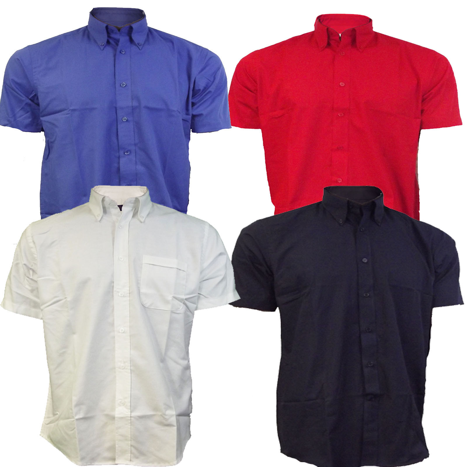 Shirts mens button down collar oxford shirt short sleeve for Mens short sleeve oxford shirt