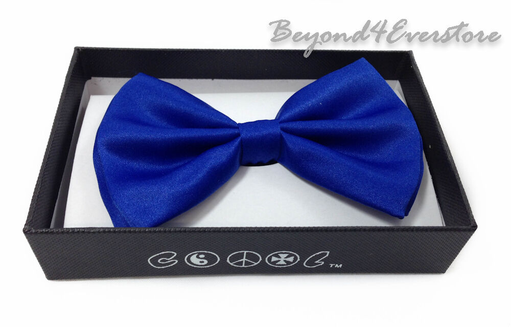Men's Formal Wear Clothing Accessories Solid Royal Blue