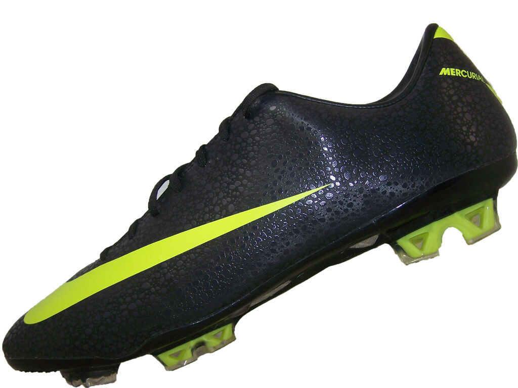 863147fc80a5 Mens Nike Mercurial Vapor VII Fg Soccer Cleats Size 10 New Black Volt