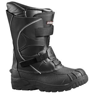 mens size 13 castle x platform snowmobile boots winter