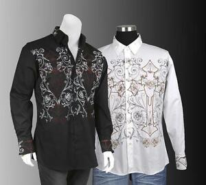 Embroidered Mens Dress Shirts 76