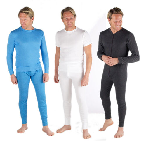Mens Thermal Long Johns All in One