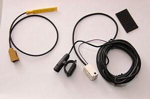 mercedes navigation ntg 2 5 bluetooth antenne mikrofon microphone ebay. Black Bedroom Furniture Sets. Home Design Ideas