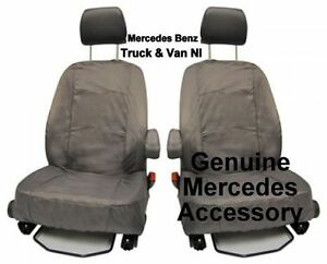 Mercedes vito waterproof front single seat cover standard for Mercedes benz original seat covers