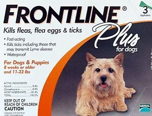 Merial Frontline Plus For Dogs Under 22 ...