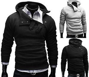 Merish-Kapuzenpullover-Hoodie-Pullover-Jacke-T-Shirt-Sweats-Herren-Sweatshirt-15