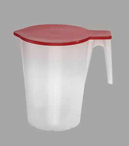 Messbecher-Literbecher-Massbecher-stapelbar-1-bis-5-Liter-mit-Deckel-u-Skala