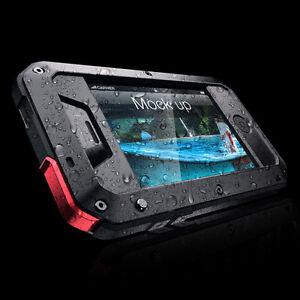 Metal-Handy-Schutzhuelle-Tasche-Huelle-Case-Cover-Wasserdicht-f-iPhone-4-4S-DHL