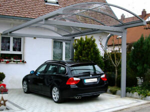 metall carport freistehend verschiedene gr en ebay. Black Bedroom Furniture Sets. Home Design Ideas