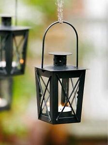 metall laterne mini 2er set gartenwindlicht zum aufh ngen windlicht laterne ebay. Black Bedroom Furniture Sets. Home Design Ideas