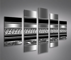 metallica mf 5 bilder xxl bild auf leinwand wandbild. Black Bedroom Furniture Sets. Home Design Ideas