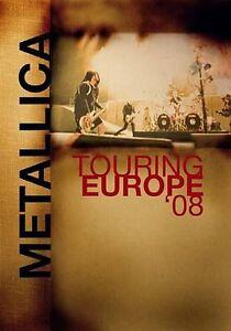 Metallica - Touring Europe 08 (DVD, 2009...