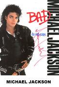 Michael Jackson Autogramm