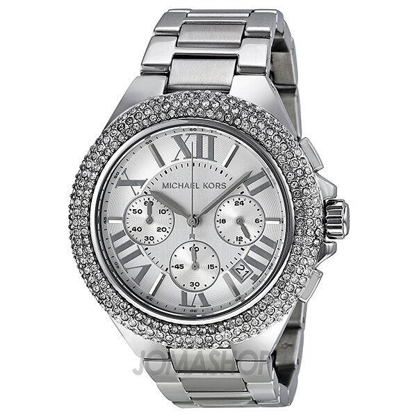 Michael Kors Camille Light-Silver Dial Chronograph Unisex Watch MK5634