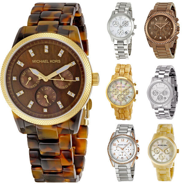 Michael Kors Ladies Chronograph Quartz Watch | Multiple Womens Models