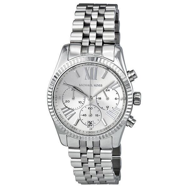 Michael Kors Lexington Chronograph Stainless Steel Ladies Watch MK5555