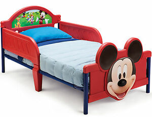 micky maus bett 140x70x66 cm kinderbett kinderm bel disney mickey mouse ab 18 m ebay. Black Bedroom Furniture Sets. Home Design Ideas